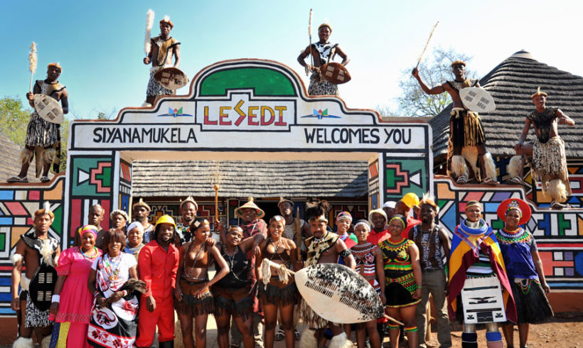 Lesedi Cultural Village in North West Province