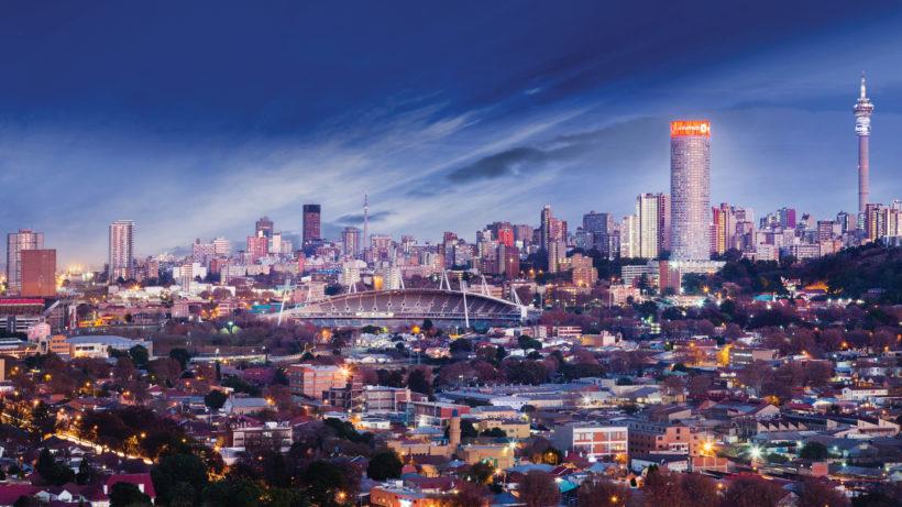 Johannesburg-Skyline